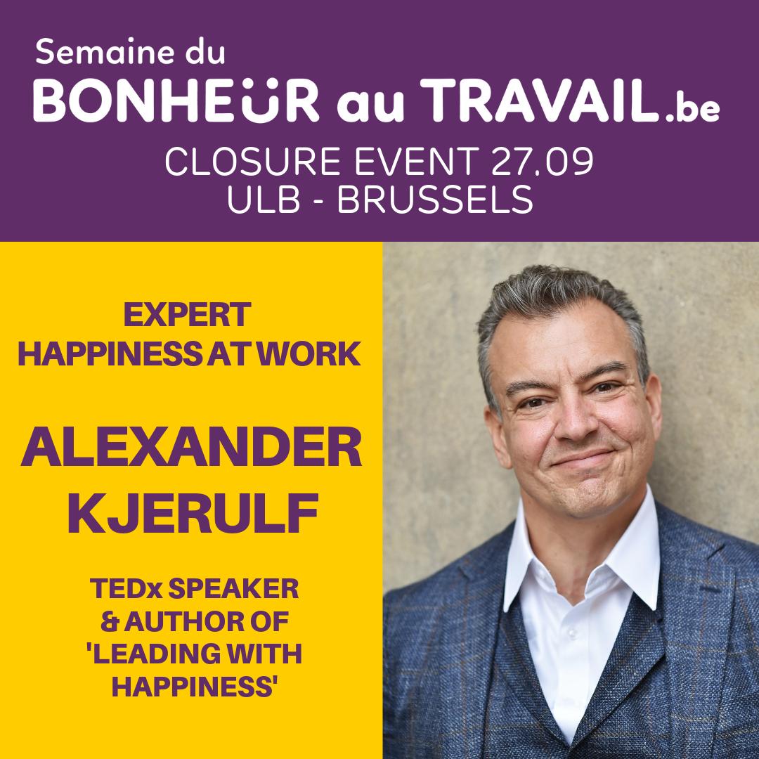 keynote speaker Alexander Kjerulf