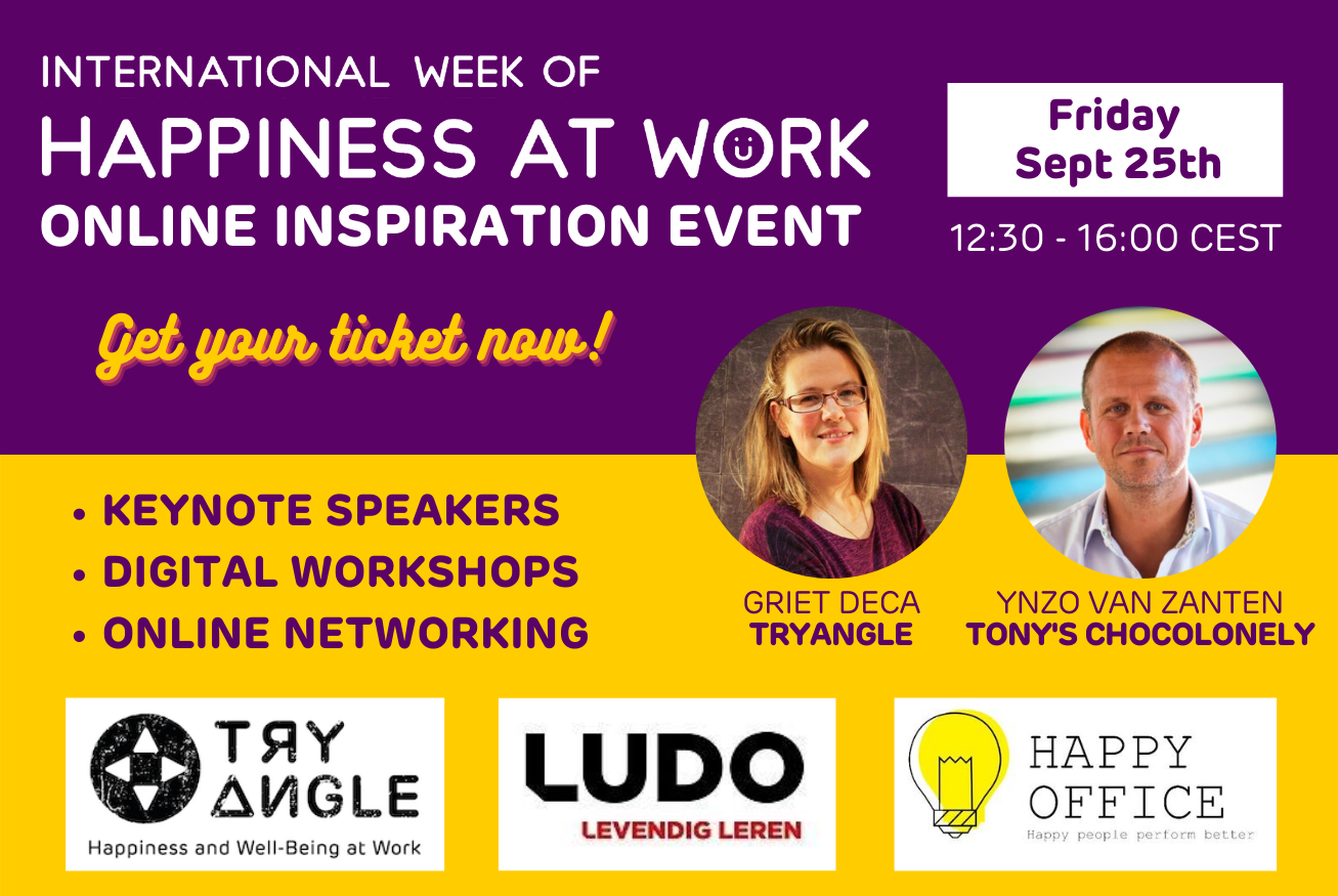 happiness at work inspiration event