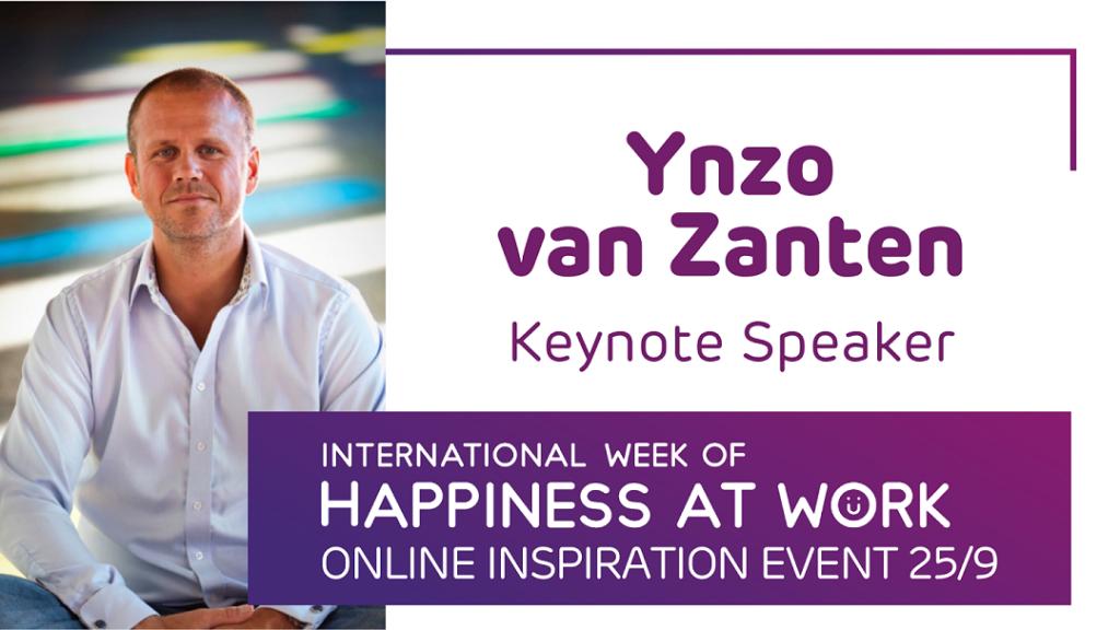 Ynzo van Zanten keynote speaker